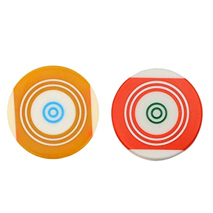 GSI Original Pool Ball Striker Superior Quality Smooth Surface Standard Size for Carrom Board Game with Case (Pack of 2)