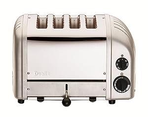 Dualit 47162 NewGen Toaster, Metallic Silver