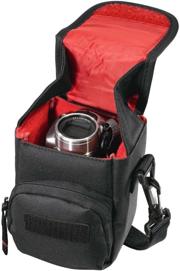Hama Syscase 140 Cámara Bolsa De Hombro Funda Cubierta Para SLR DSLR Nikon Canon Sony