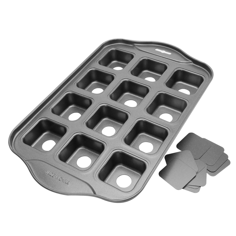 12 Cups Mini Cheesecake Pan, springform Pan,bundt cake pan-Square