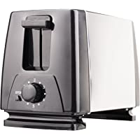 Brentwood Toaster Extra Wide Slot, 2-Slice, Stainless Steel