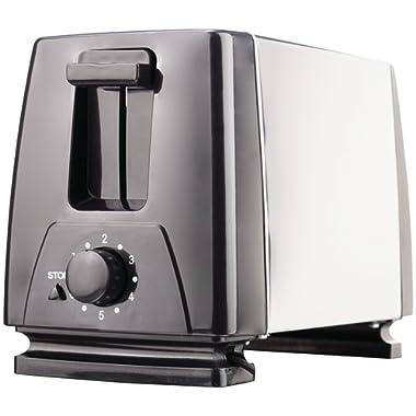 Brentwood Appliances TS-280S 2-Slice Toaster, Medium, Black