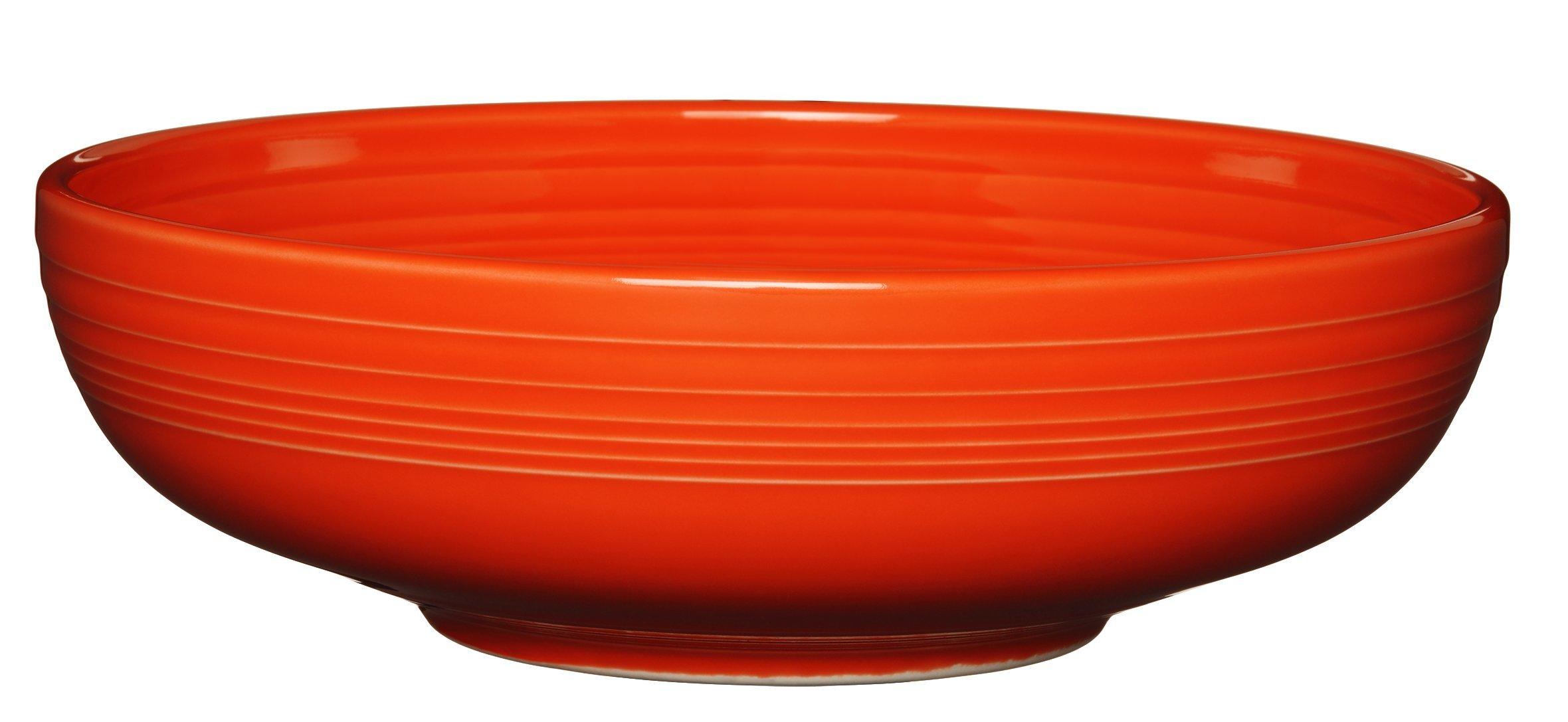 Fiesta Bistro Serving Bowl, 96 oz, Poppy