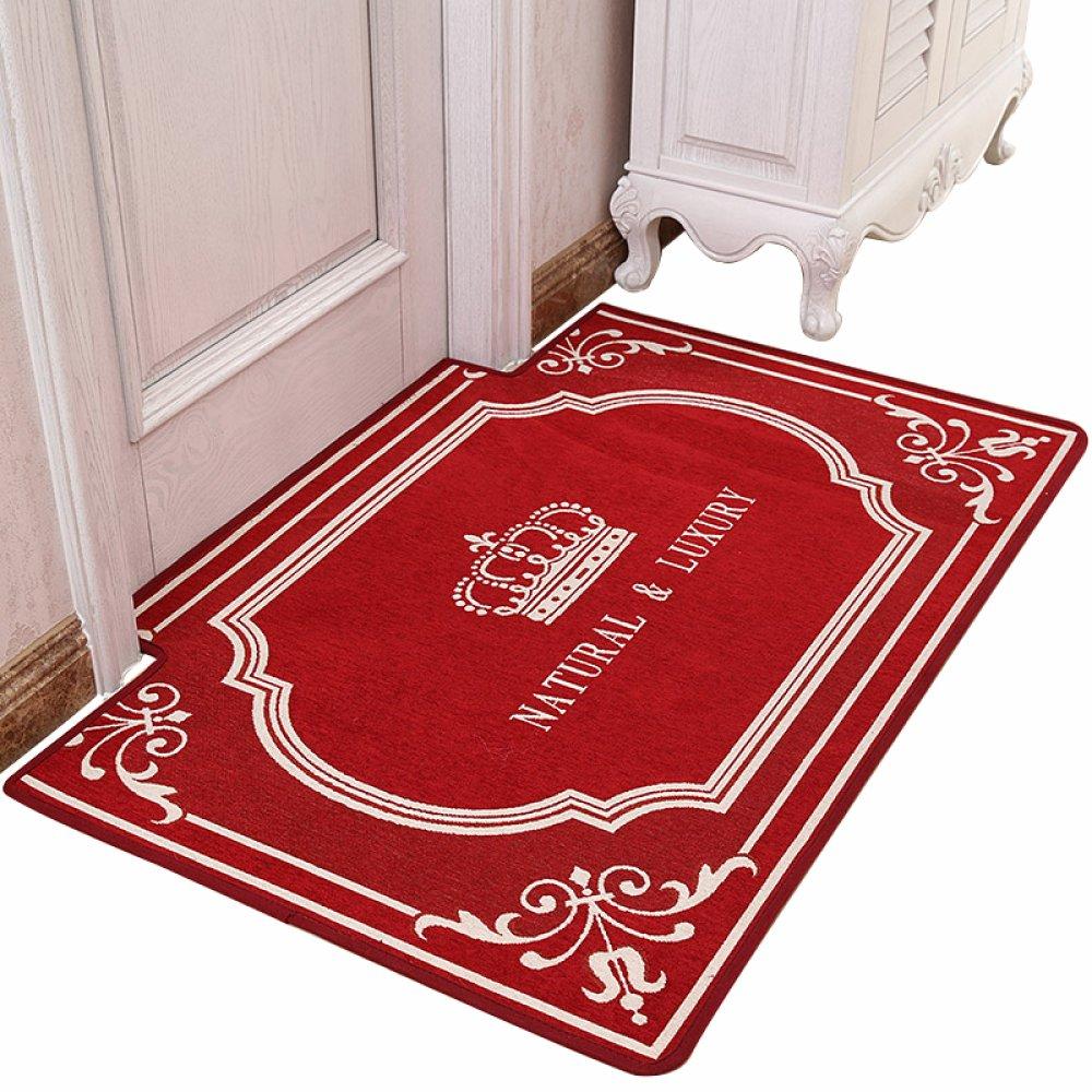 YYY WLQ Matte - Hausteppich Türmatte - Einstiegsmatte - Eingangstür Matte - Eingangshalle Matte B07FMTCT7P Duschmatten