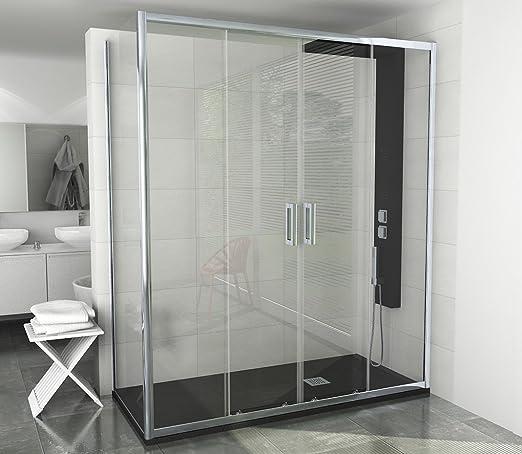 Cabina de ducha Manhattan, 166-170, 6 mm, modelo 2015, magnetizado ...