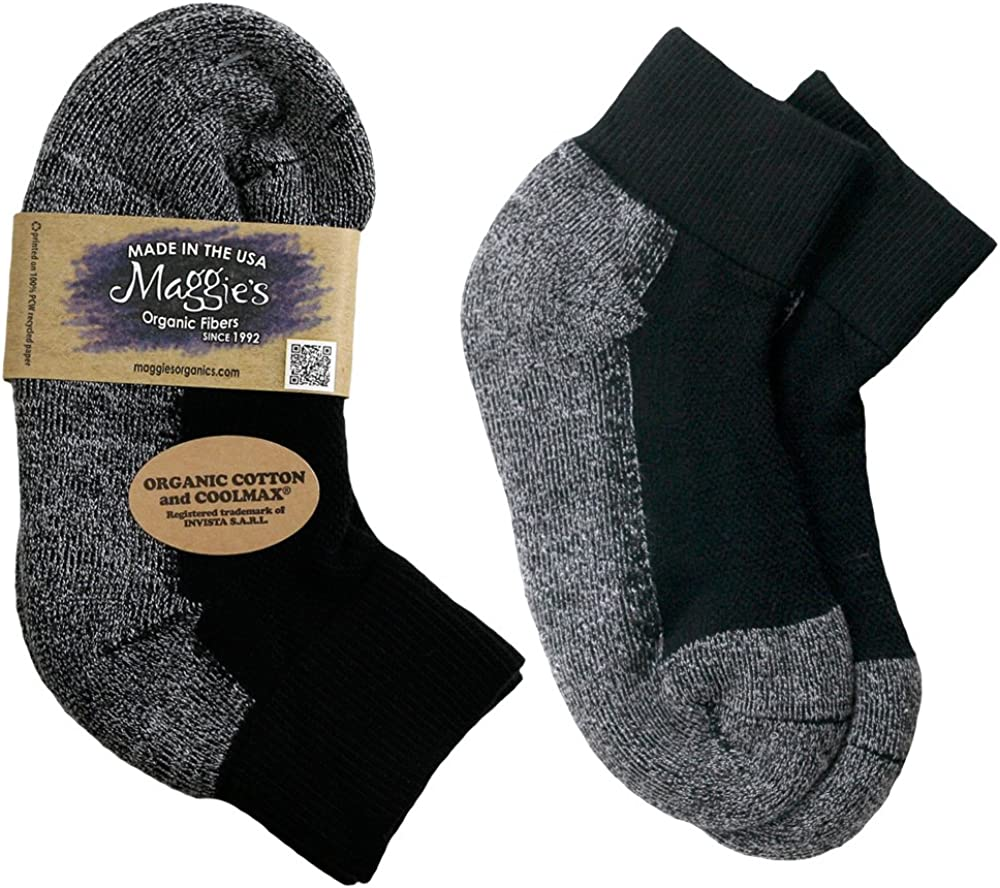 Maggies Organics Functional Organics Footie Socks Solid Classic Pack of 3