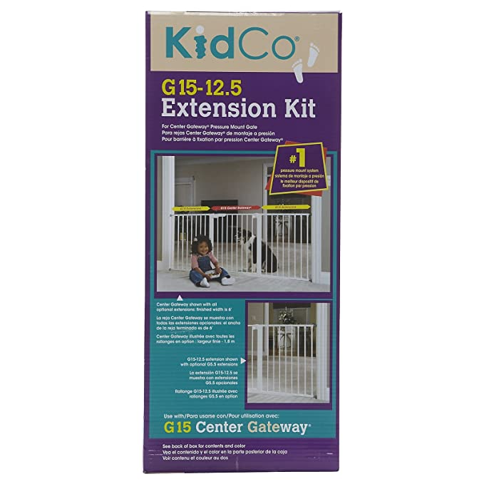 Kidco Gateway Pressure Mounted 37gate White G1000 Holiday Presents