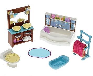 Vasca Da Bagno Vanity Prezzo : Fisher price amare casa delle bambole deluxe decor mobili bagno
