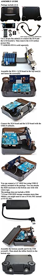 OGST Gaming Console Case for ODROID-XU4: Amazon ca: Electronics