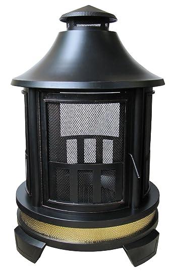 Amazon.com : Landmann USA 25806 Hartford Outdoor Fireplace : Patio ...