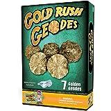 Gold Rush Geodes Science Kit – Crack Open 7 Golden Rocks!