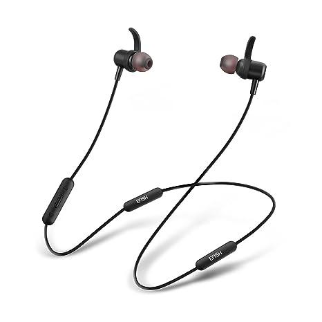 EFISH,Auriculares Magnéticos De Deporte Con Batería Dual Bluetooth,Auriculares Inalámbricos,Auriculares Con