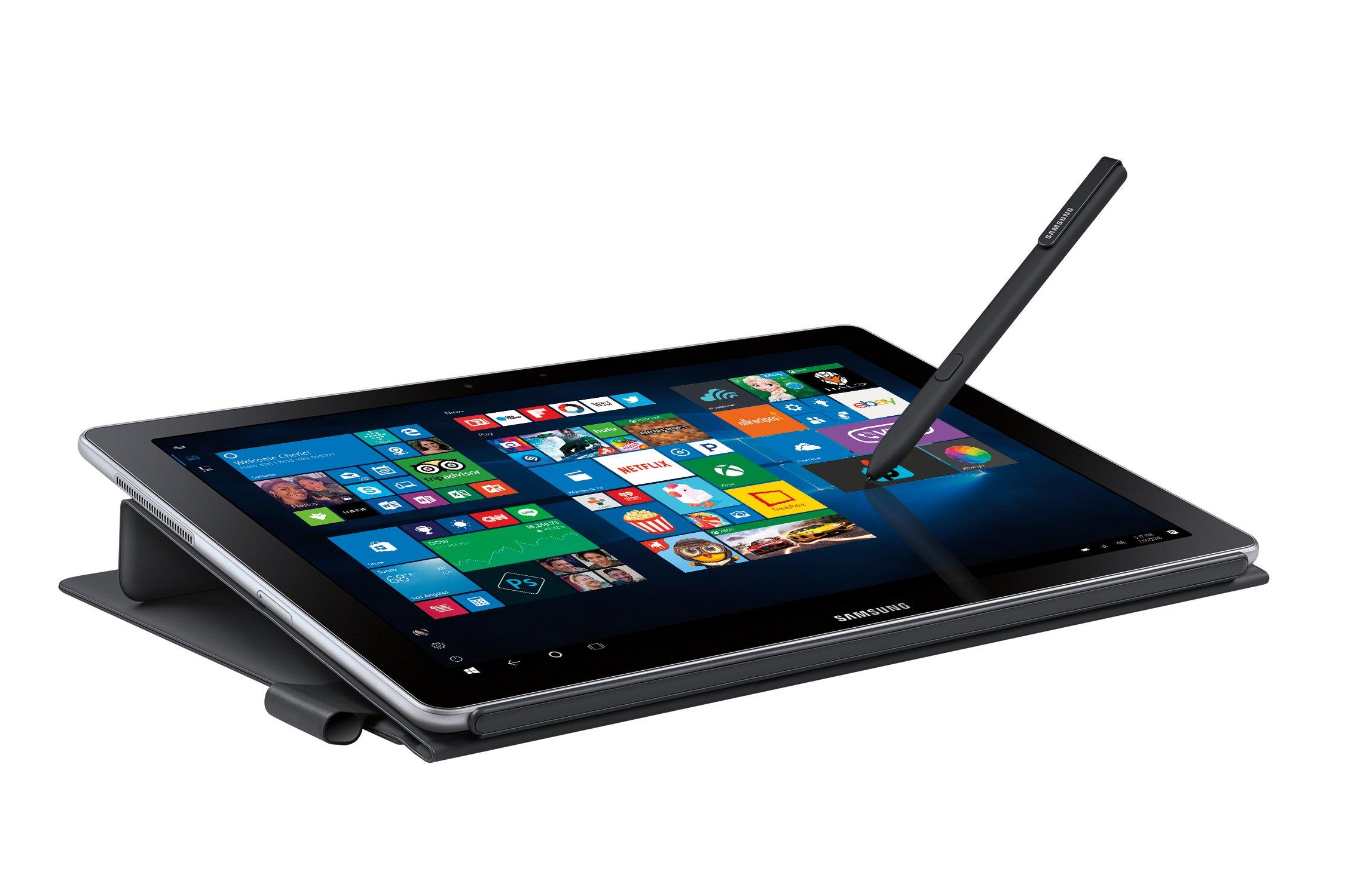 """Samsung Galaxy Book 12"""" Windows 2-in-1 PC (Wi-Fi) Silver, 8GB RAM/256GB SSD, SM-W720NZKAXAR by Samsung (Image #5)"""