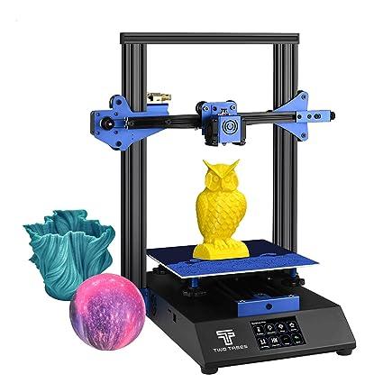 Aibecy Impresora 3D BLUER Kit de bricolaje Estructura de chapa ...
