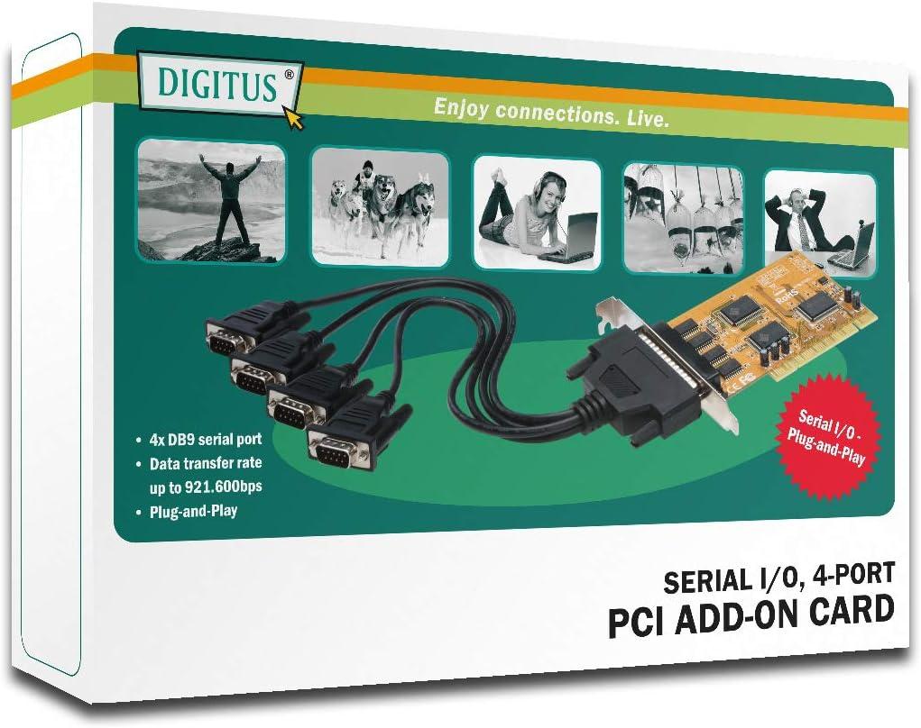 Digitus 2-Port Serial PCI Card