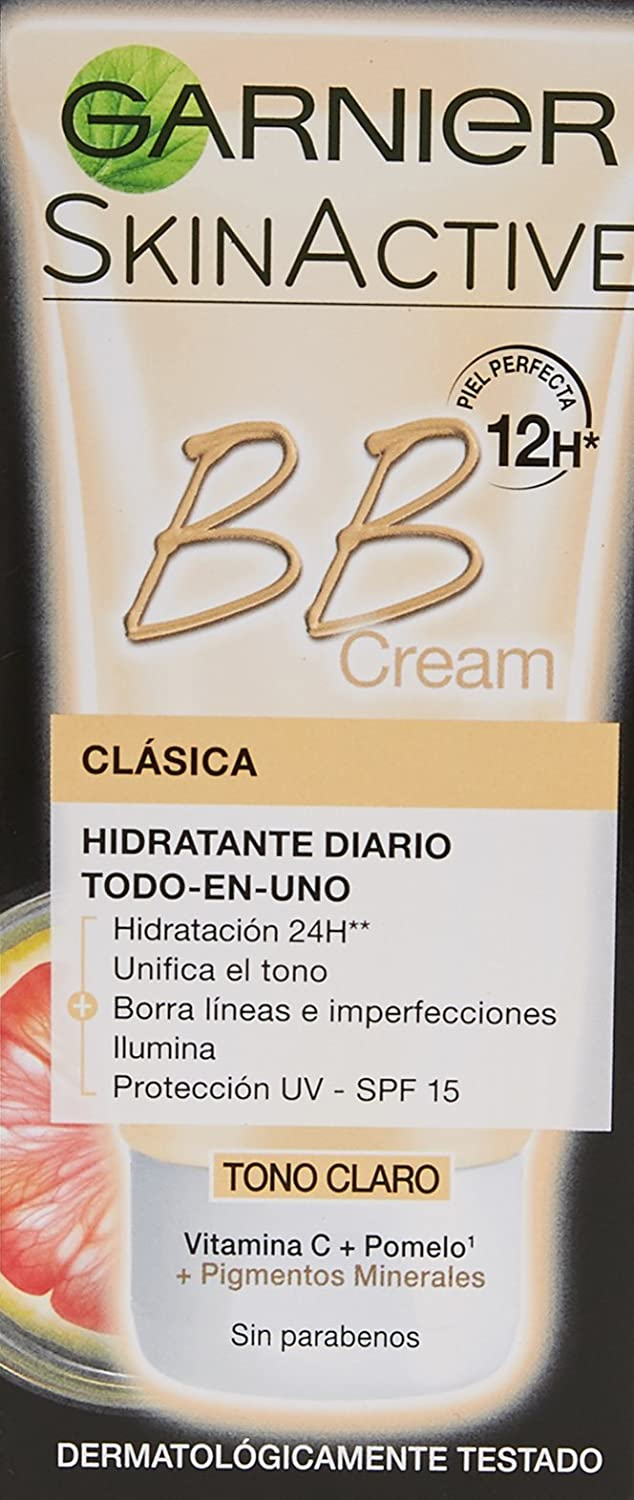 Garnier Skin Active BB Cream Original Perfeccionador prodigioso para pieles normales - 50 ml: Amazon.es: Belleza