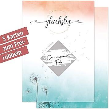 5 Rubbellose Personalisierte Geschenk Idee Zum Selber Machen Patentante Patenonkel Taufe Patin Pate Gastgeschenke Hochzeit Rubbel Karte