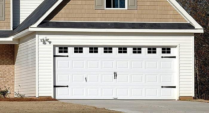 Amazon Com Decorative Faux Vinyl Decals Garage Door Windows 2