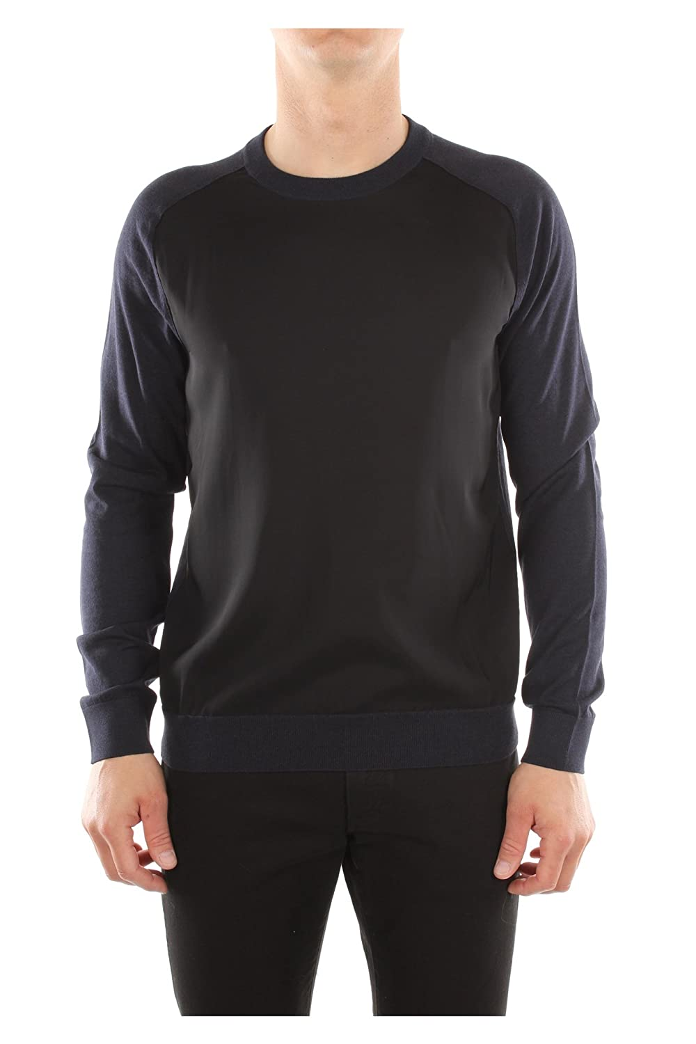 RMPO0026P1529 Lanvin Sweatshirts Men Cotton Blue