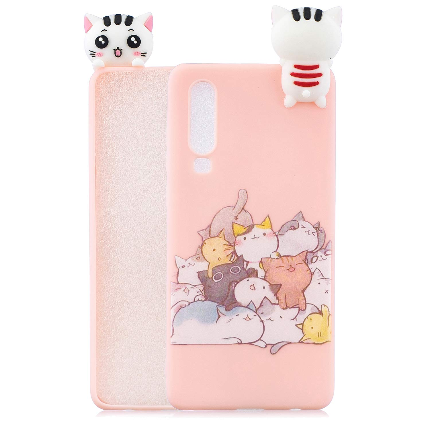 iPhone 5S Case iPhone 5 Case,iPhone SE Case Tznzxm New 3D Cartoon Animals Character Shockproof Full Protective Soft Silicone Rubber Anti-Scratch Non-Slip Phone Back Case for iPhone 5S 5 SE Panda