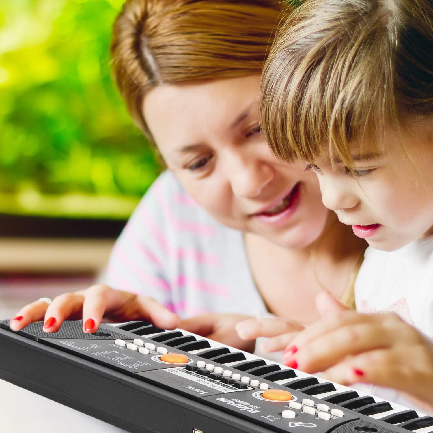 AIMEDYOU 49 Keys Piano Keyboard for Kids Multifunction Portable Piano Electronic Keyboard Music Instrument Birthday Xmas Day Gifts for Kids by AIMEDYOU (Image #7)