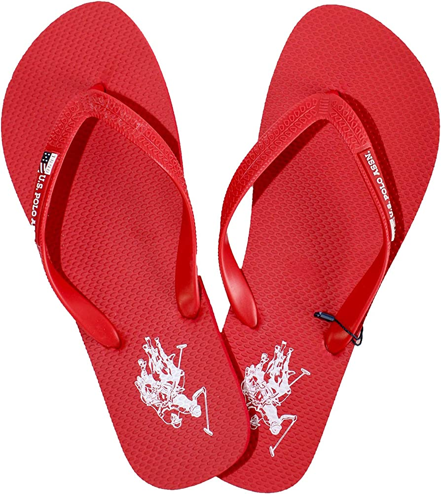 Chanclas Hombre Remo U.S. Polo Assn.Rojo (45): Amazon.es: Zapatos ...