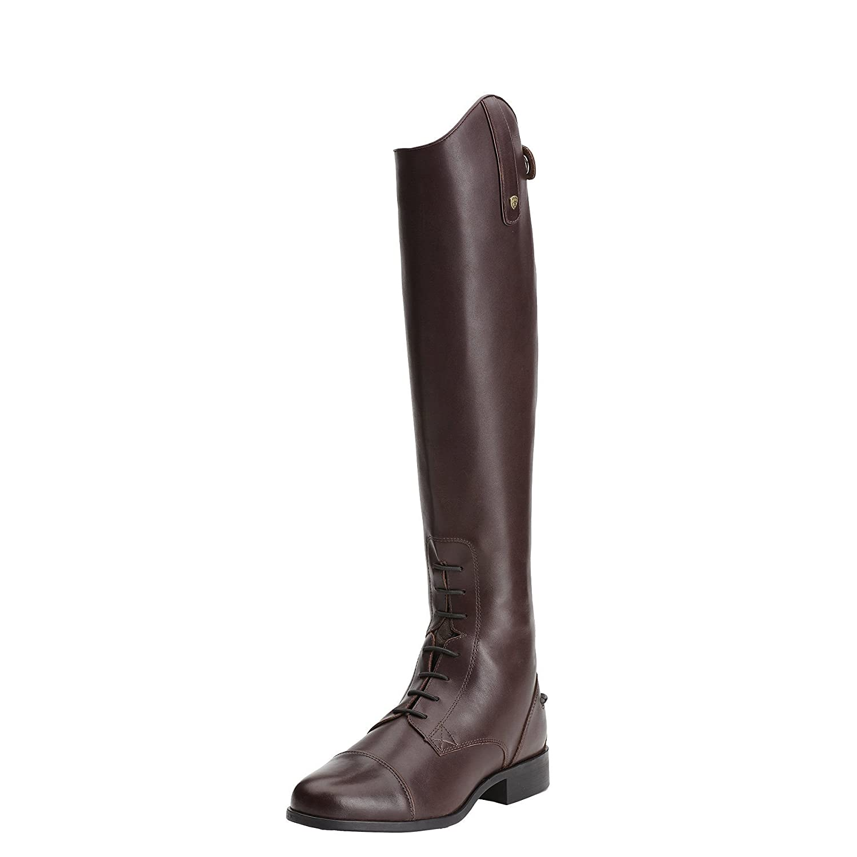 Ariat Womens Heritage Contour Field Zip Tall Riding B00Y3FNWGM 6.5 B / Medium(Width) Wide(Calf) Tall(Height) Sienna
