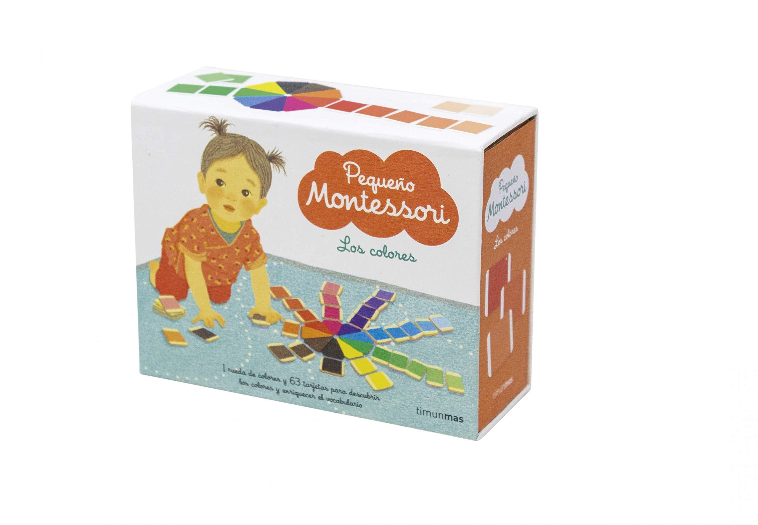 Pequeño Montessori. Los colores: Amazon.es: Varios Autores, Moreno Llort, Lluisa: Libros