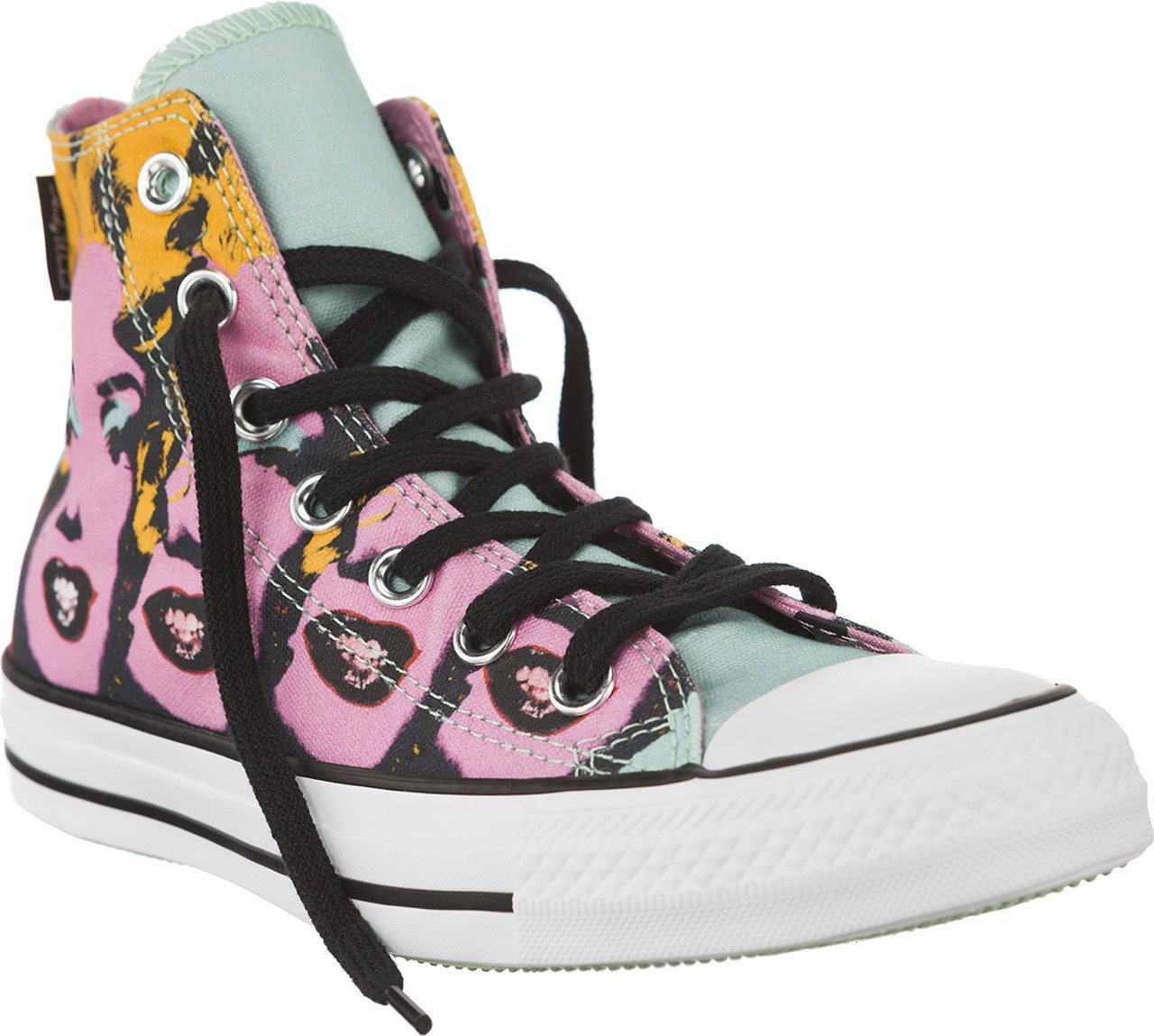 d4f57786a96f Galleon - Converse Unisex Chuck Taylor All Star Andy Warhol Marilyn Monroe  High Top Lichen Orchid Smoke White Sneaker - 7 Men - 9 Women
