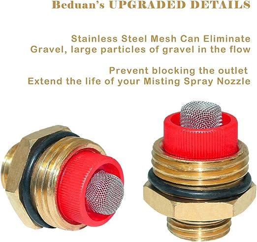 alpha-grp.co.jp Feelers Brass Misting Spray Nozzle 1/2 BSPF 3 ...