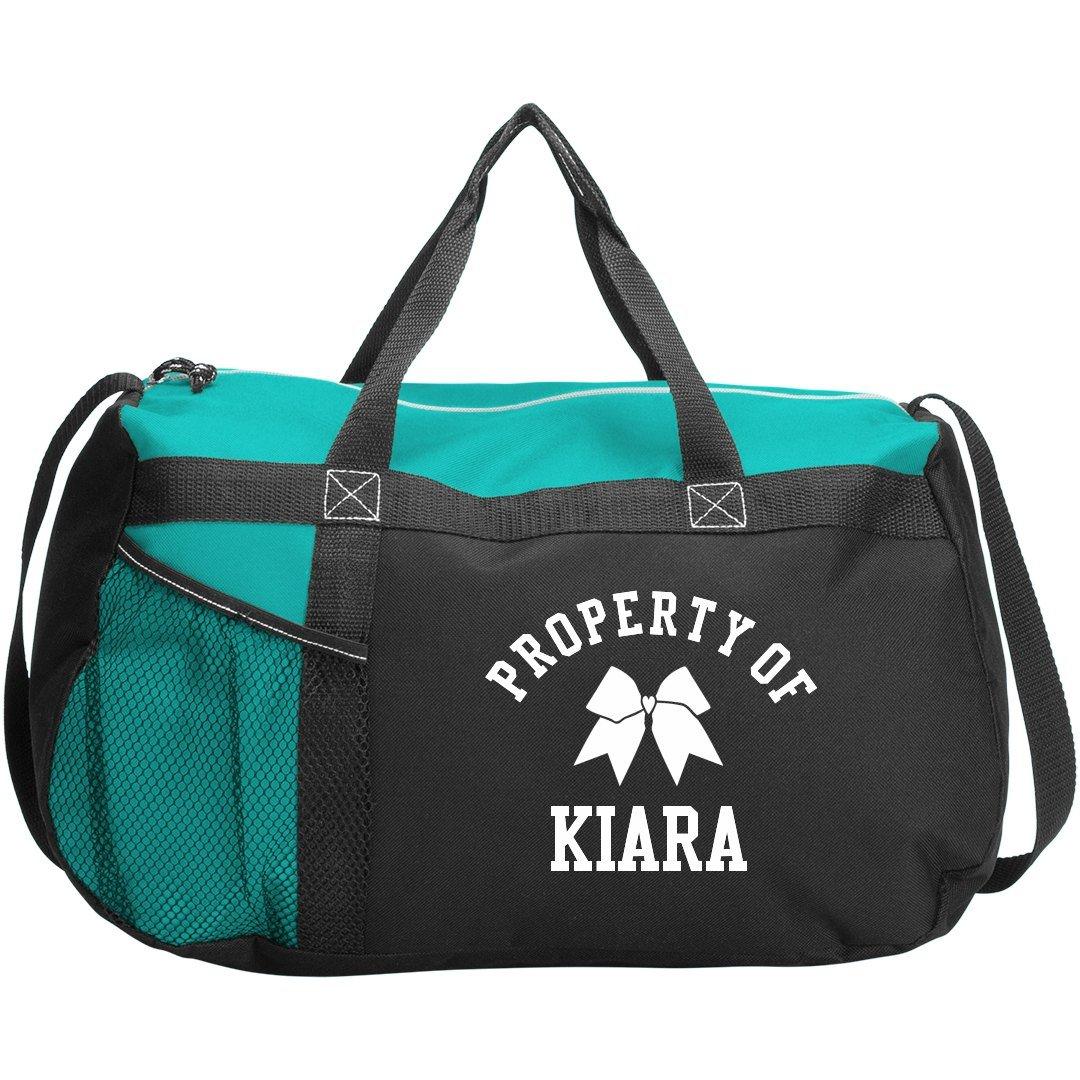Cheer Squad Property Of Kiara: Gemline Sequel Sport Duffel Bag