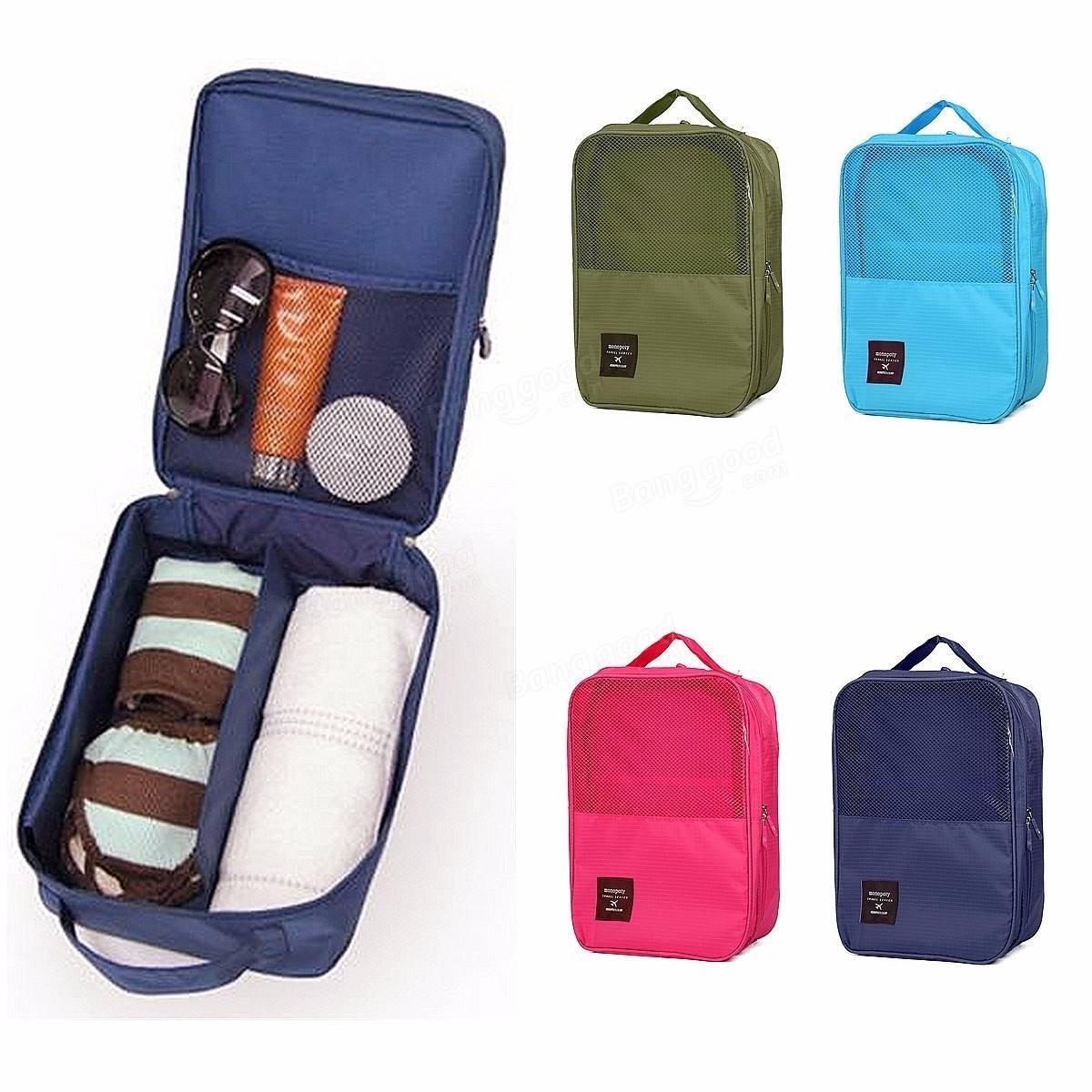 8f7a3cba94c1 Big Bazaar Bazaar Travel Storage Bags Waterproof Portable Shoes Box ...