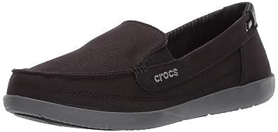 f204488fe Crocs Women s Walu Canvas Loafer