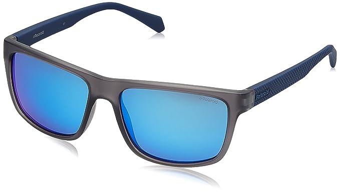 Polaroid Herren Sonnenbrille Eye, Blau (Blu), 62