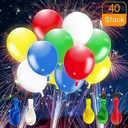 CalMyotis LED Luftballoon LED Balloons For Birthdays Weddings