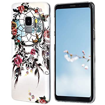 Amazon.com: Funda flexible para Galaxy S9, carcasa ...