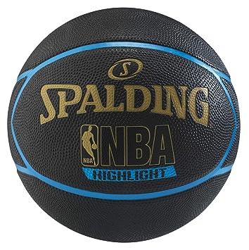 Spalding Balón de Baloncesto Highlight Azul 29.5