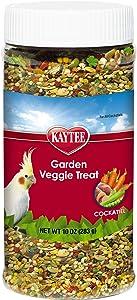 Kaytee Fiesta Garden Veggie Treat Mix for Cockatiels