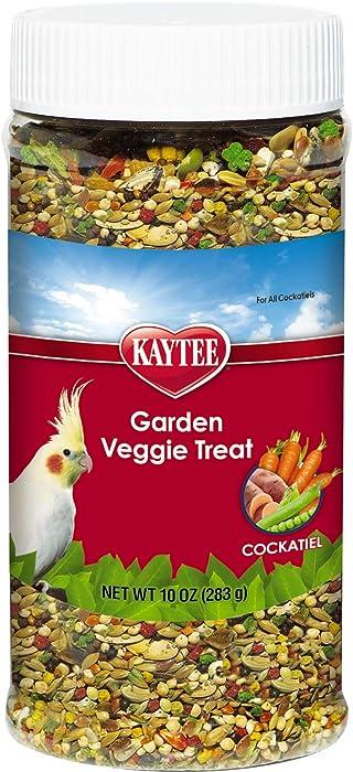 The Best Kaytee Cockatiel Garden Veggie Treat