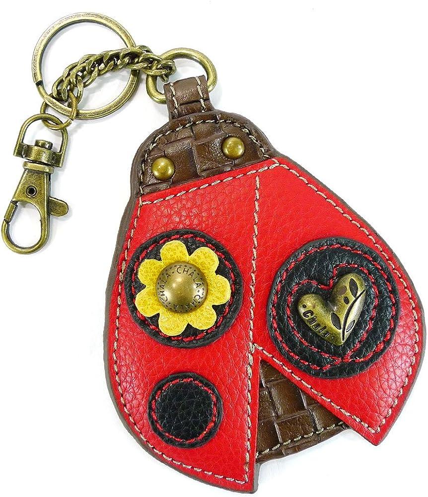 Key Fob Coin Purse Ladybug Chala