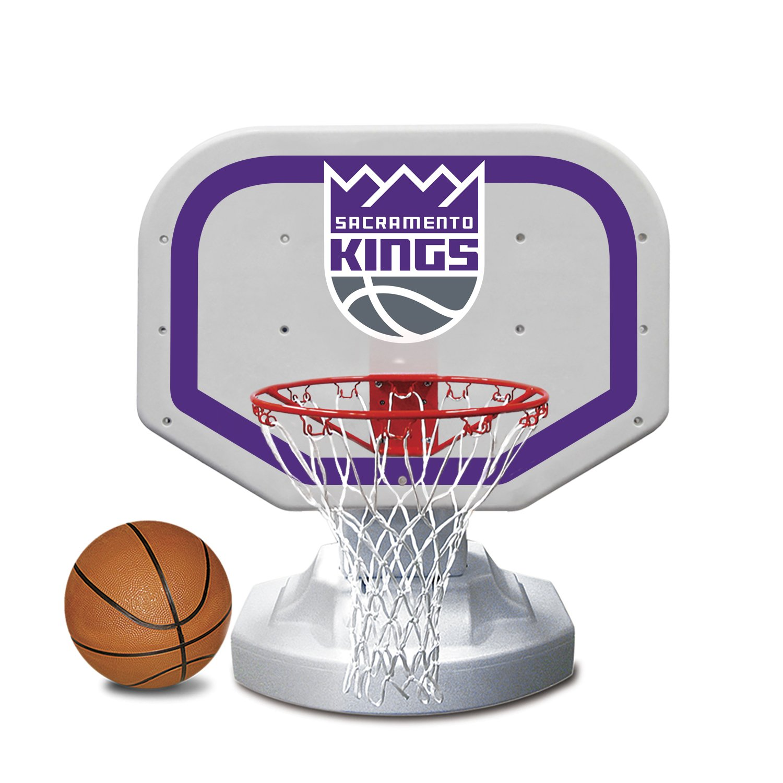 Poolmaster 72926 Sacramento Kings NBA USA Competition-Style Poolside Basketball Game by Poolmaster (Image #1)