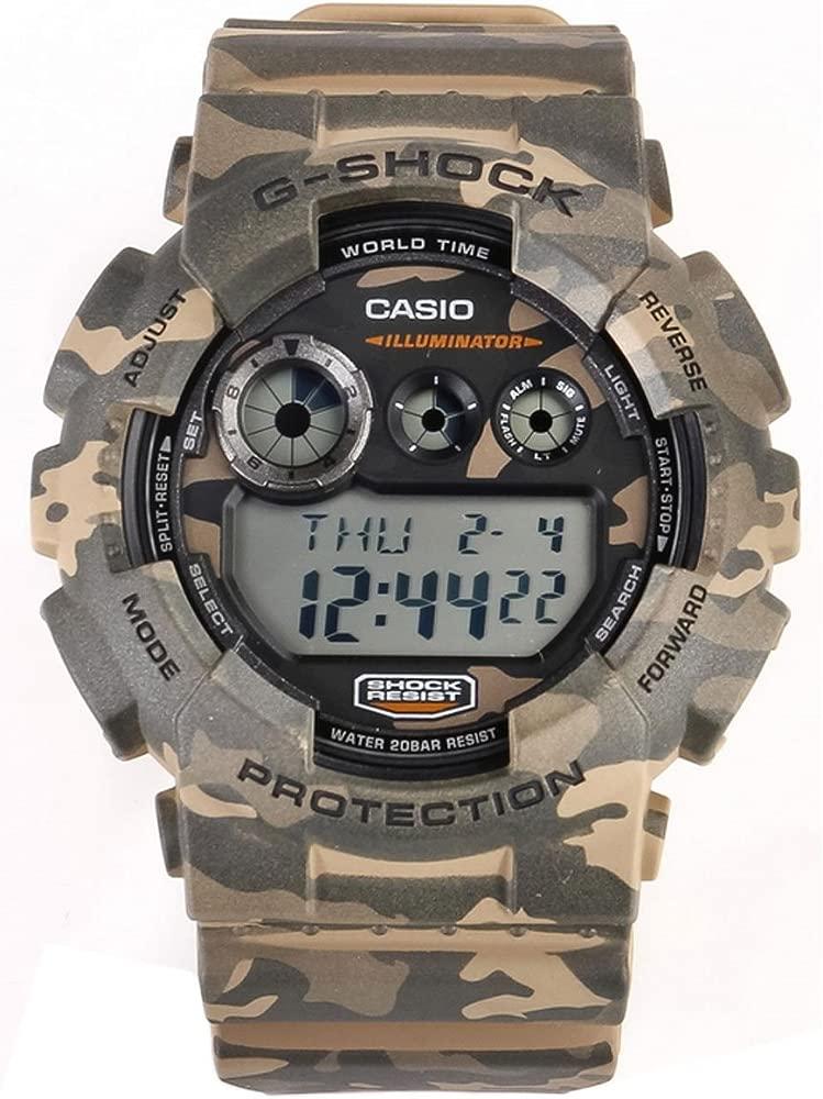 Casio GD 120CM 8E Reloj (Pulsera, Masculino, Polymer