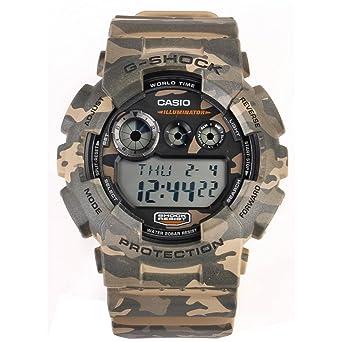 f74123452 Amazon.com  Casio G Shock GD-120CM-5ER G-Shock Uhr Watch Montre Camo ...