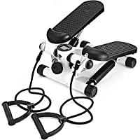 AUSELECT Exercise Stepper, Mini Aerobic Stepper Machine with Display, Low Noise Fitness Stepper Including Resistance…