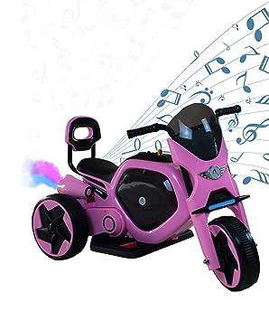 AIREL Moto Eléctrica para Niños | Moto Eléctrica Niños | Moto Eléctrica con Música y Luz | Moto Batería para Niños | Moto para Niños 1-4 años: Amazon.es: ...