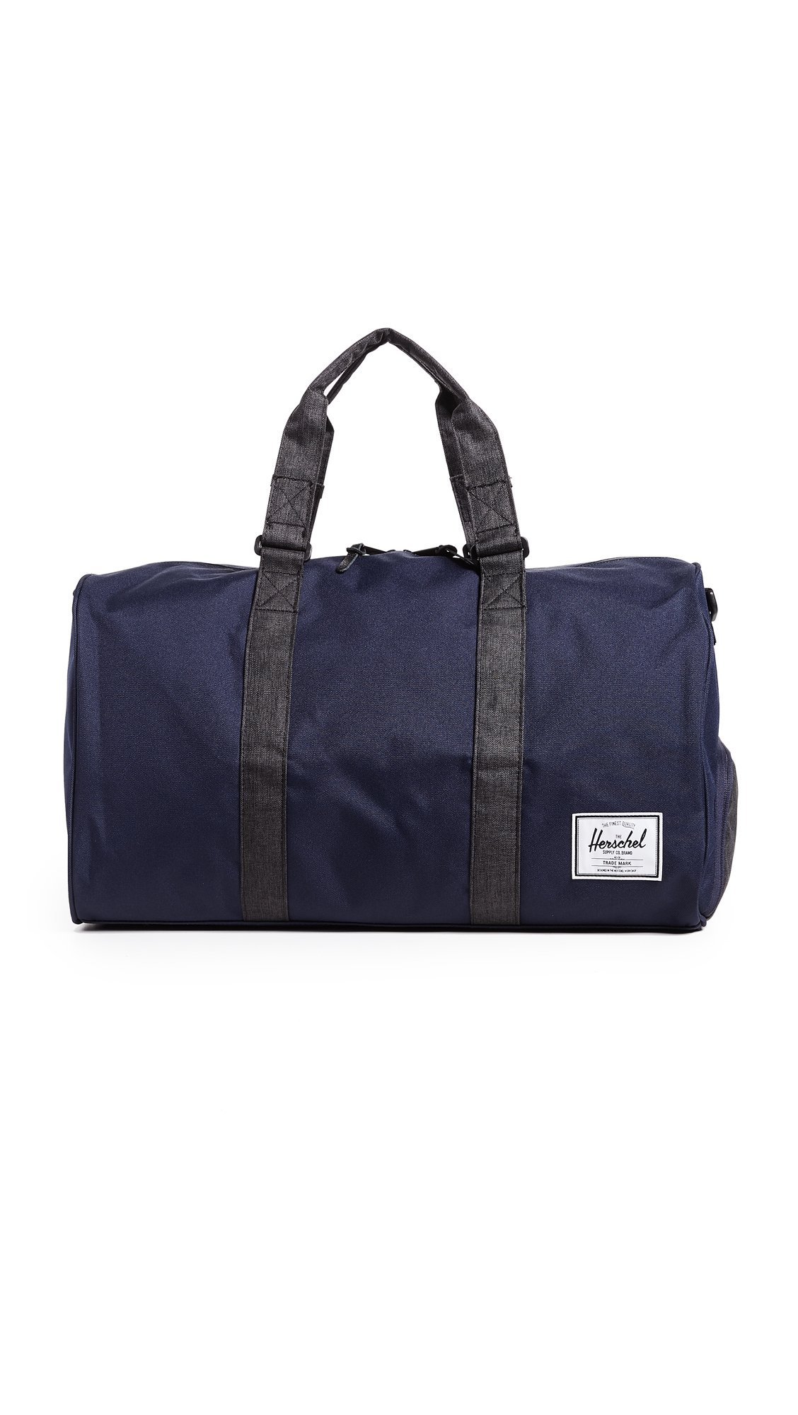 Herschel Supply Co. Novel Duffel Bag, Peacoat/Black Crosshatch, One Size