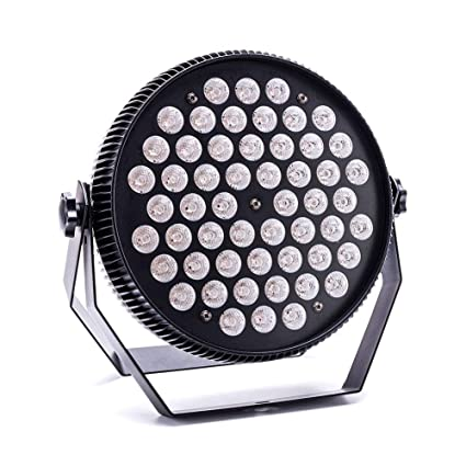 Amazon.com: Par Lights,Yoken 54 X 2W LEDs Par Can with Sound Activated and DMX Control Glow In The Dark Great for DJ Disco Party Show Stage Lighting: ...