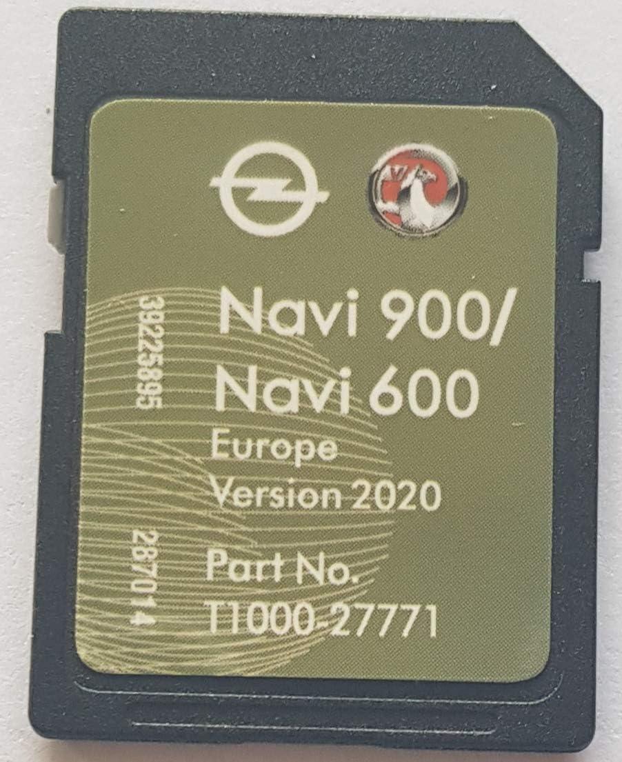 Tarjeta SD GPS Opel NAVI600 NAVI900 Europe 2020