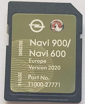 Tarjeta SD GPS Opel NAVI600 NAVI900 Europe 2020: Amazon.es ...