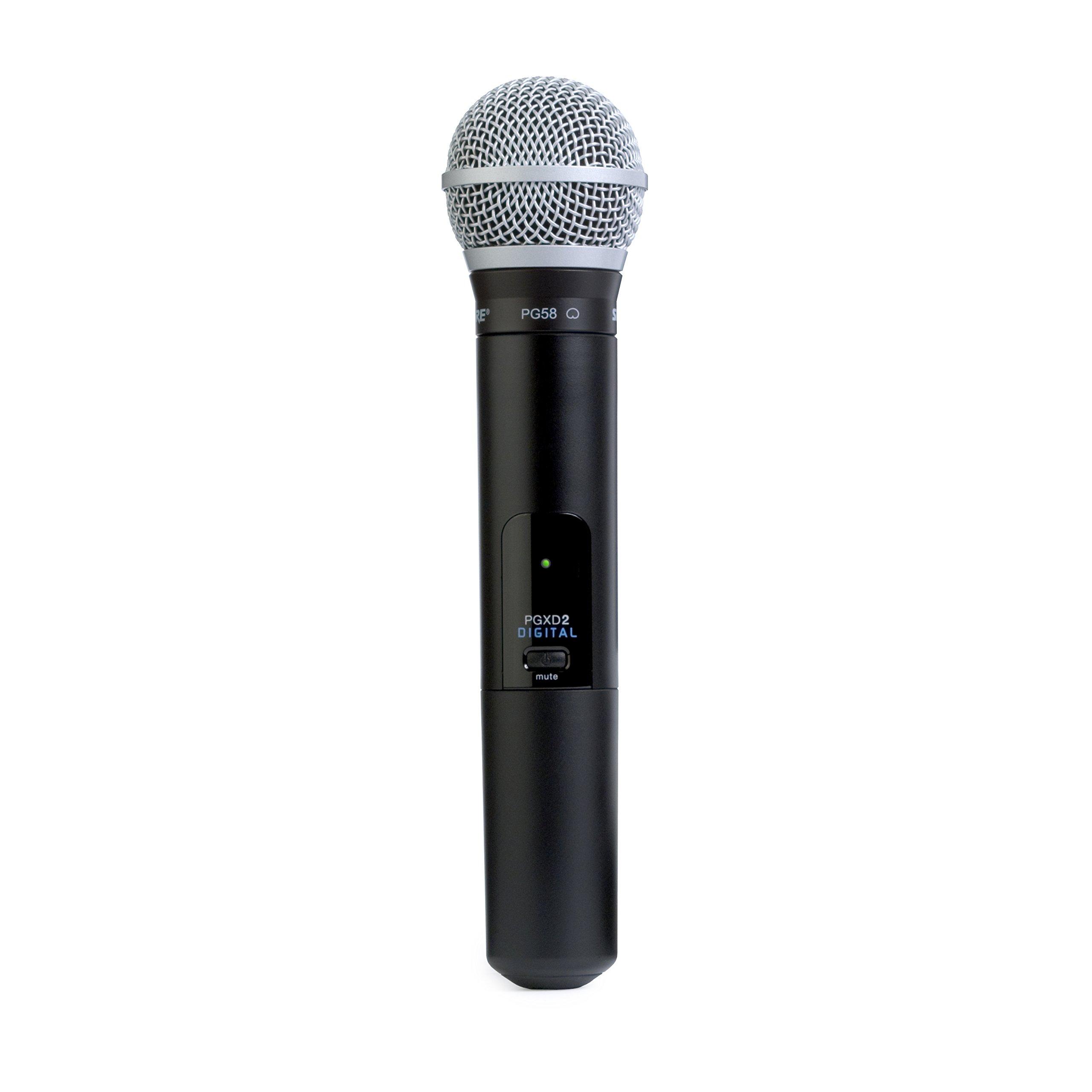 Microfono Shure PGXD2/PG58=-X8 Digital Handheld Wireless ...